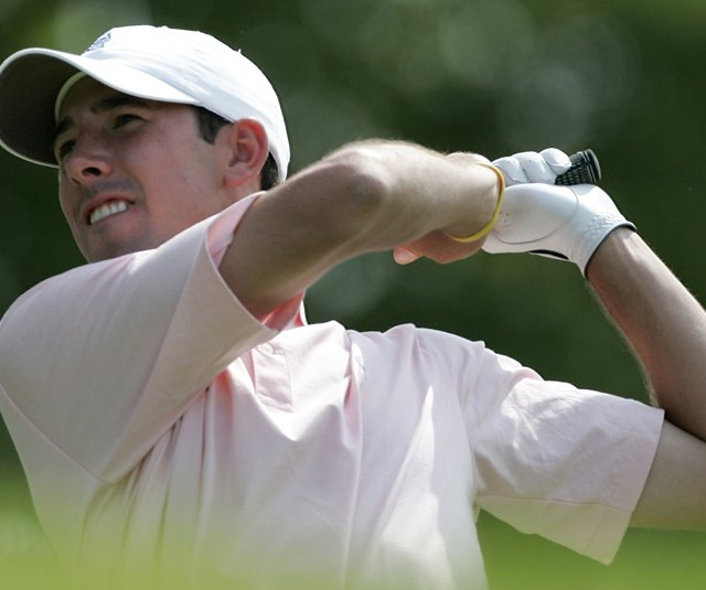 Michael Schachner, a former Duke player, nearly shot a 59 at the 2007 NCAA Championship. (File photo)