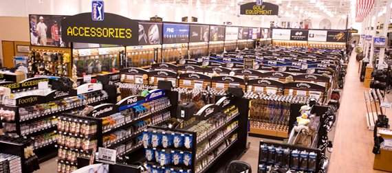 seven PGA TOUR Superstores in the Atlanta, Dallas and Phoenix metro areas and two Martin's PGA TOUR Superstores in Myrtle Beach. The company recently announced plans to open its tenth superstore in Naples, Fla.
