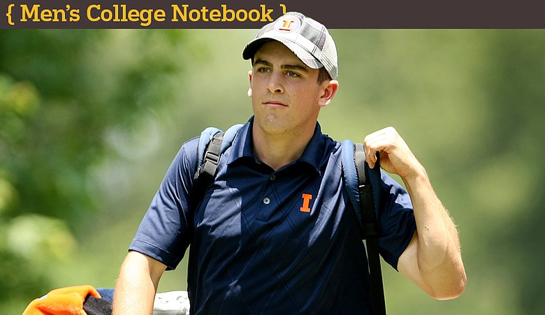 Illinois' Scott Langley during the 2010 NCAA Championship at the Honors Course.