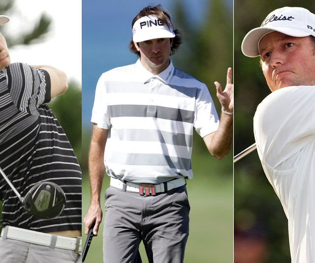 Ben Crane, Bubba Watson and Tim Clark