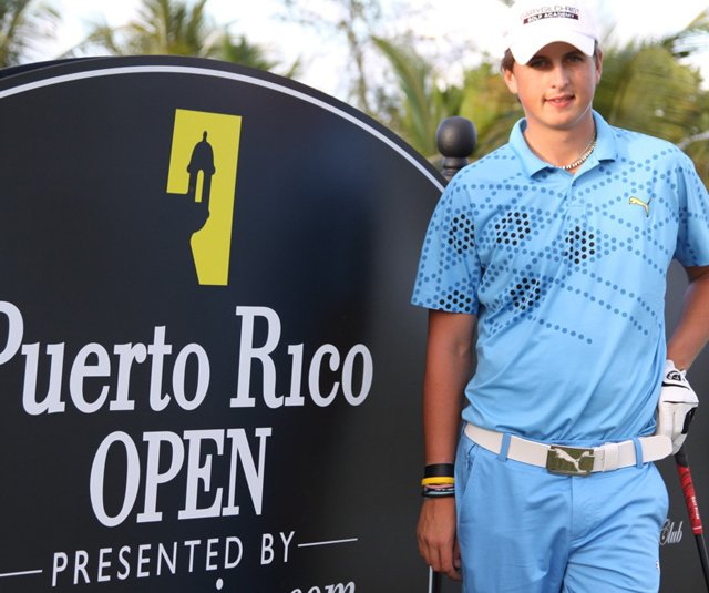 Jason Roets at the PGA Tour&#39;s Puerto Rico Open.