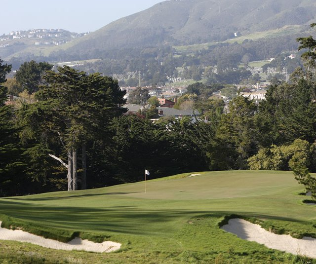 The Cal Club&#39;s par-4 seventh hole.