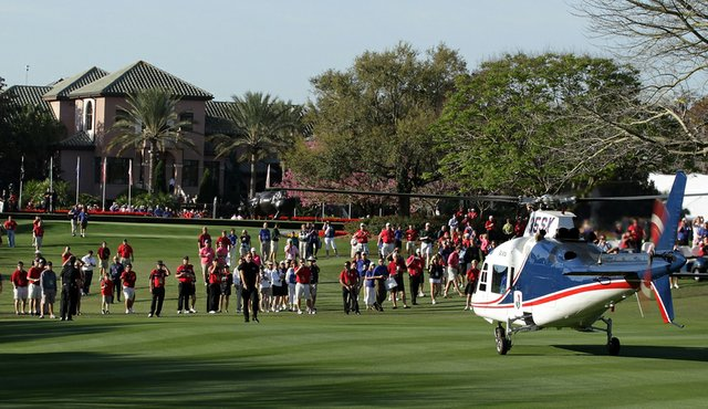 Tiger woods helicopter - photo#26