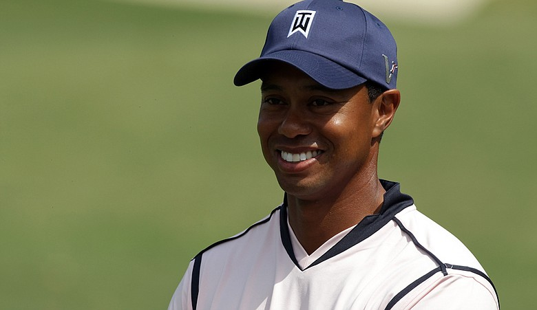 Tiger Woods during Day 2 of the Tavistock Cup.