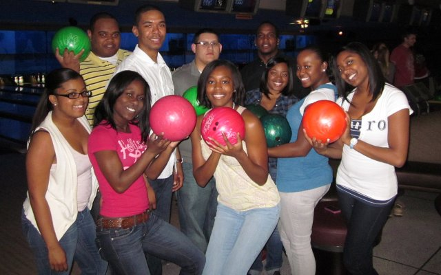 """Walgreens employees recently """"took the lanes"""" at five bowling locations including Aloma Lanes in Winter Park to raise money for Junior Achievement. At last count, they had raised more than $60,000!"""