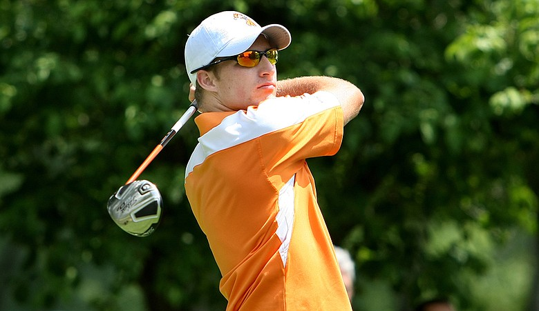 Morgan Hoffmann during the 2010 NCAA Championship