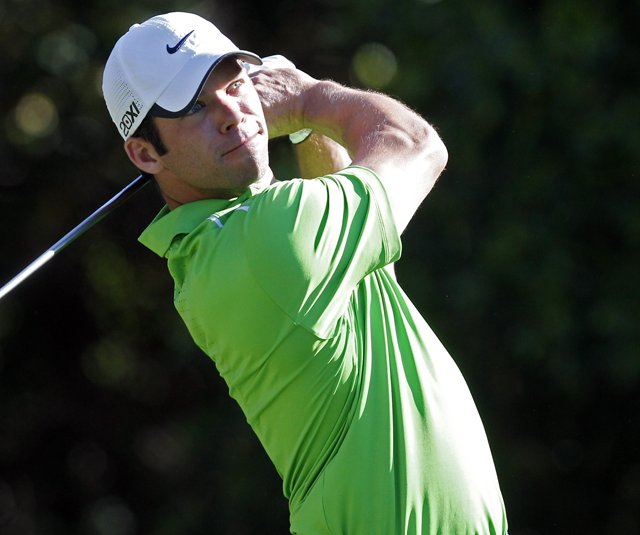 Paul Casey during the first round of the Transitions Championship. 