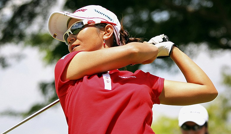 Ai Miyazato during the HSBC Women's Champions.