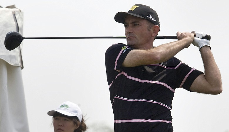 Markus Brier at the 2009 Volvo China Open
