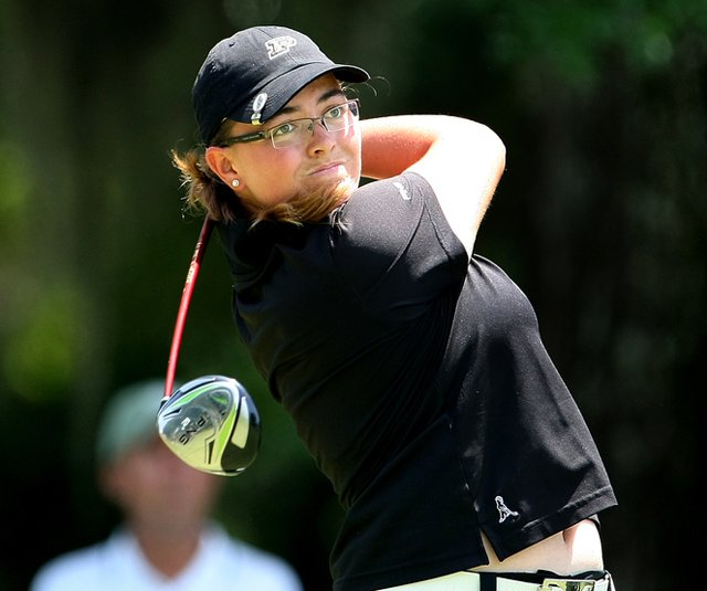 Purdue's Laura Gonzalez-Escallon at the 2010 NCAA Championship