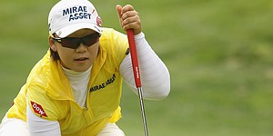 After late bogey, Shin leads Kia Classic by one