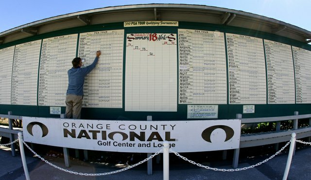 Orange County National was the site of the 2010 PGA Tour Q-School.