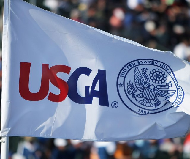 A USGA flag