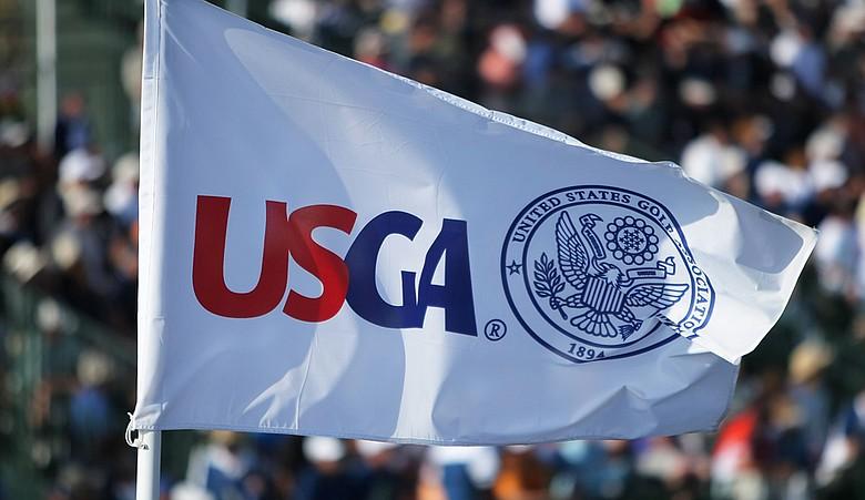 A USGA flag