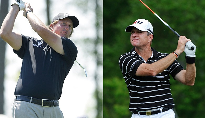 Phil Mickelson and Scott Verplank