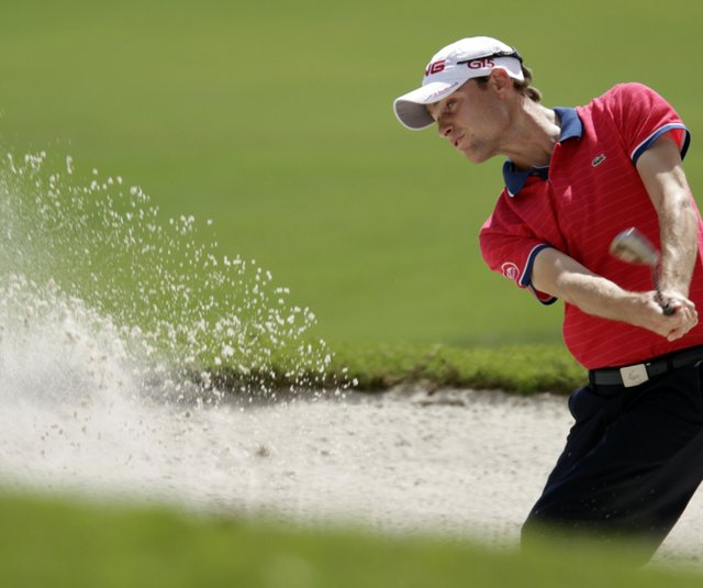 Rhys Davies during the WGC-Cadillac Championship at Doral