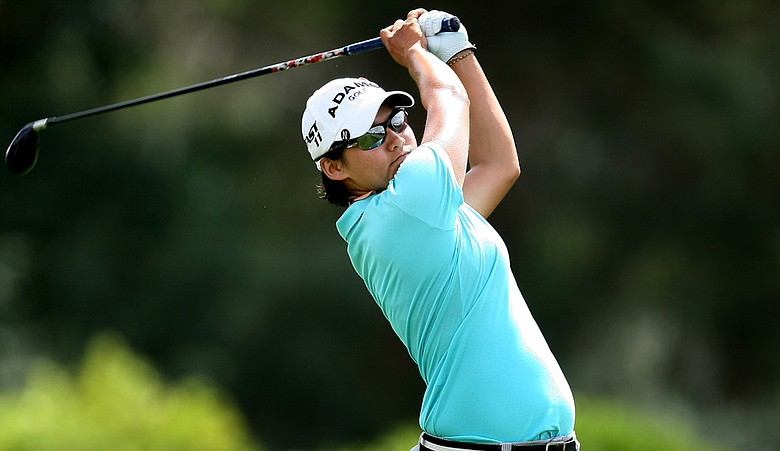 Yani Tseng during Round 3 of the Kraft Nabisco Championship.
