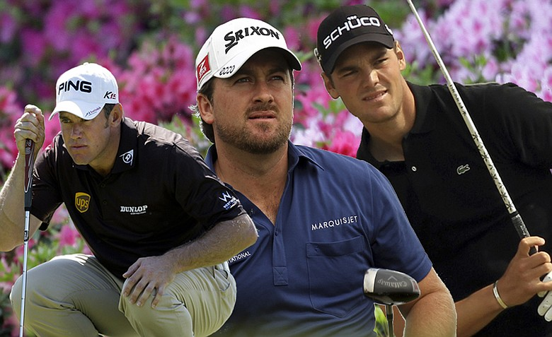 Lee Westwood, Graeme McDowell and Martin Kaymer are all ranked inside the top four in the Official World Golf Rankings.