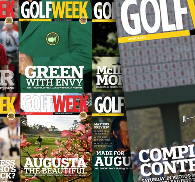 Golfweek's special edition covers for the 2011 Masters.