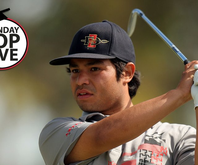 J.J. Spaun of San Diego State
