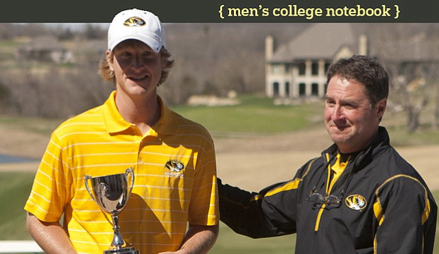 Jace Long and Missouri coach Mark Leroux
