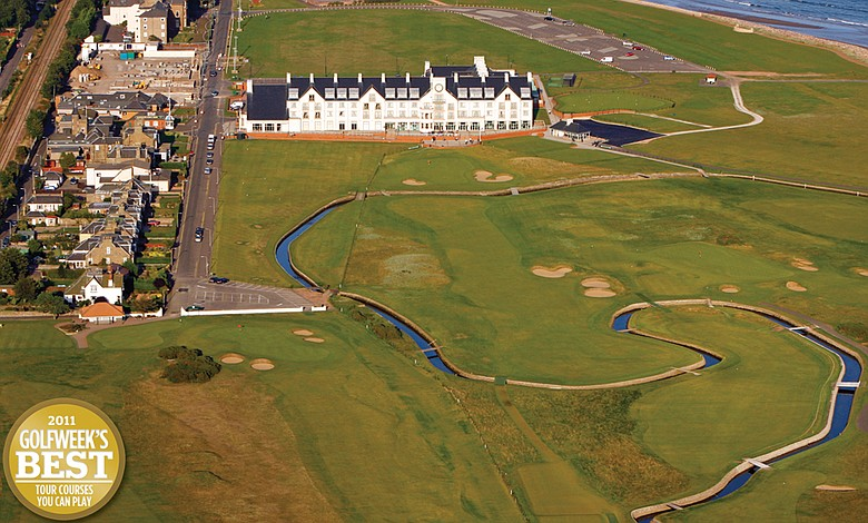 No. 5 Carnoustie in Scotland.