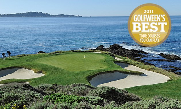 No. 1 Pebble Beach.