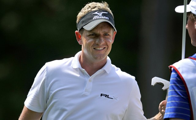 Luke Donald during Round 2 of The Heritage.