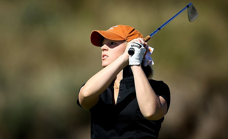 Texas sophomore Madison Pressel