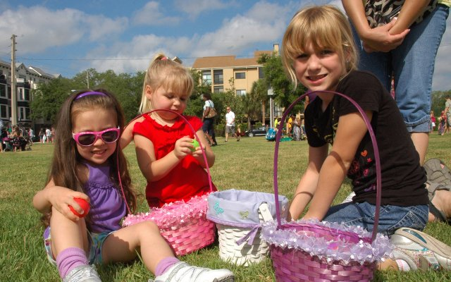 The city of Winter Park's 57th Annual Easter Egg Hunt was Saturday, April 23, in Central Park.