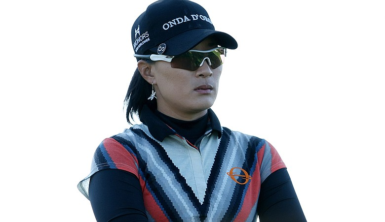 Se Ri Pak during the LPGA Tour Championship.