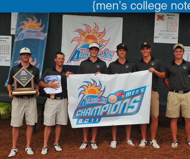 Kennesaw State after winning the Atlantic Sun Conference Championship.