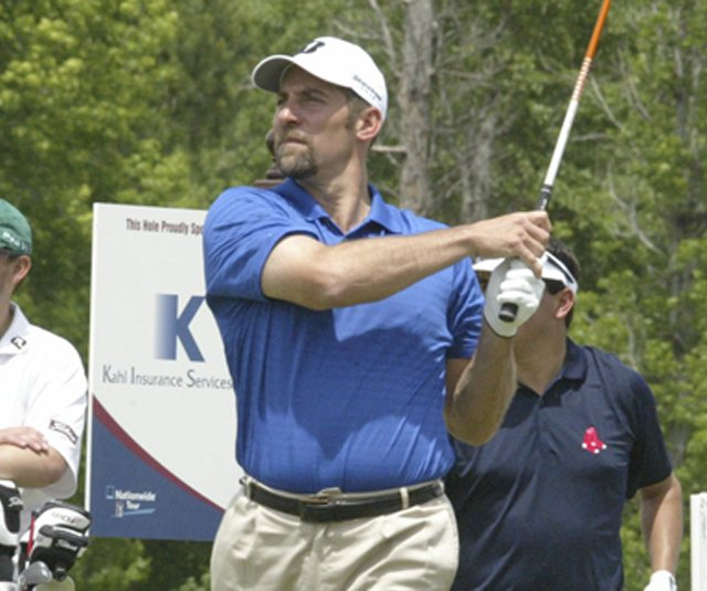 John Smoltz during a practice round for the South Georgia Classic.