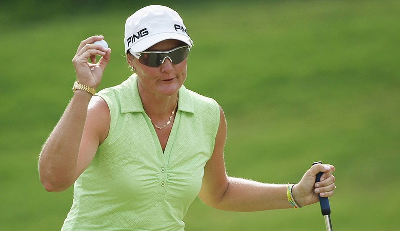 Maria Hjorth during the Avnet LPGA Classic.