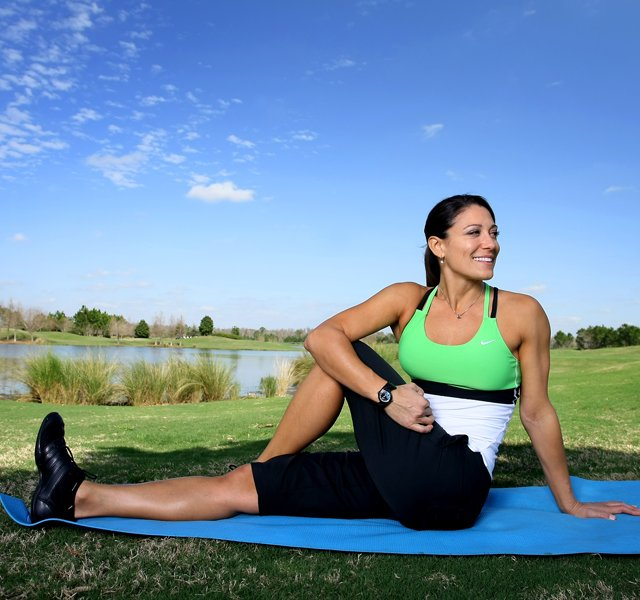 Golfweek For Her fitness: Andrea Doddato says that there are five exercises that will help any golfer, and they concentrate on core, glutes, shoulders, back and your quads. She currently works out with Maria Hjorth and they showed off her rigorous workout for our Golfweek For Her crew.