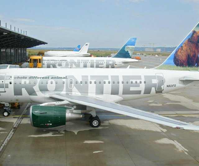 The LPGA has announced a partnership with Frontier Airlines (File Photo, 2003).