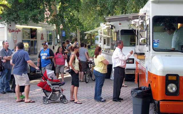 The city of Maitland hosted its first Food Truck Cafe — a collection of food truck vendors with culinary-level offerings — at Lake Lily on April 26. The event is weekly, from 6-9 p.m. on Tuesdays.