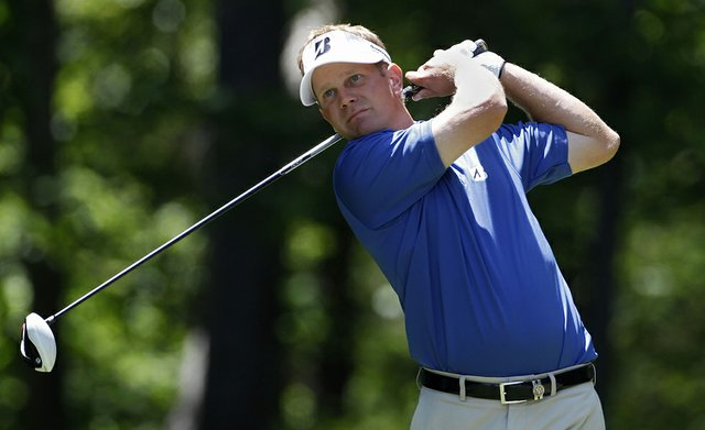 Billy Hurley III during the opening round of the 2011 Stadion Classic at UGA.