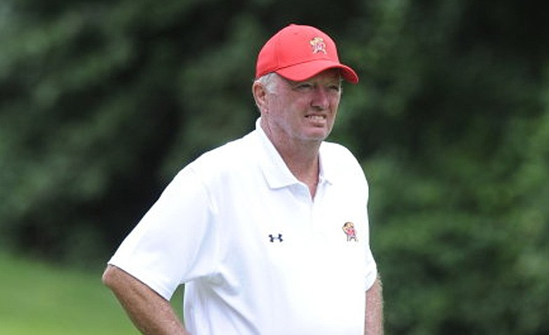 Maryland coach Tom Hanna