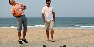 The Players Championship: Bocce ball tourney