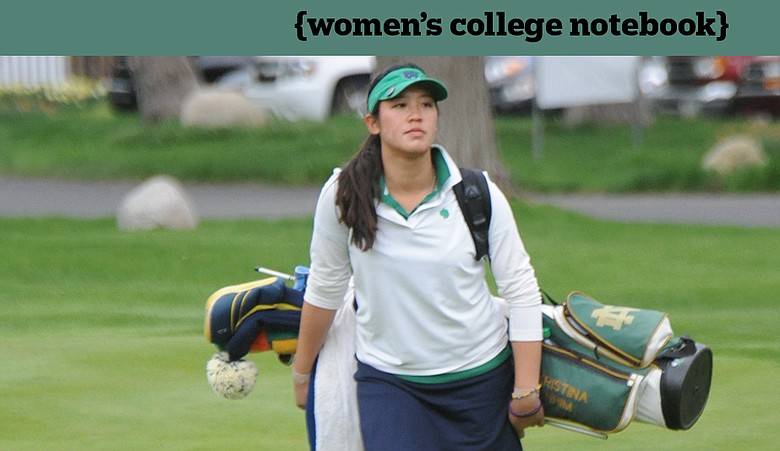 Notre Dame freshman Kristina Nhim