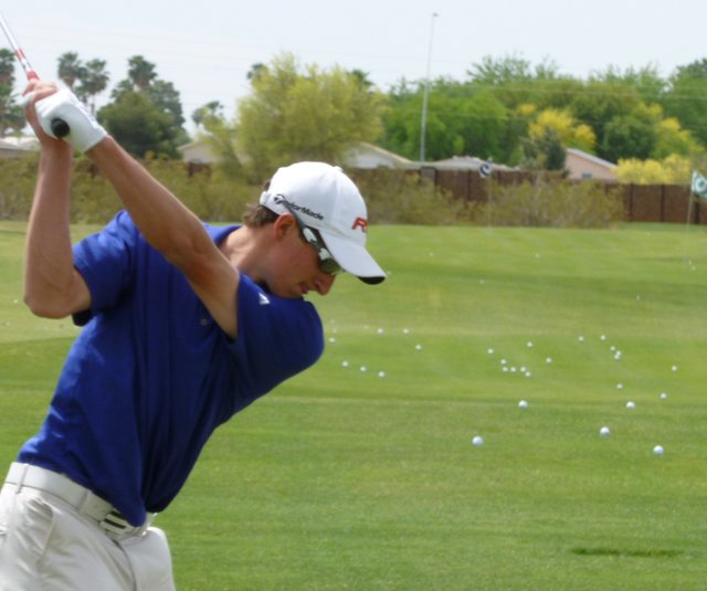 Gilmour Academy's Andrew Bieber qualified for U.S. Open sectional qualifying May 10.