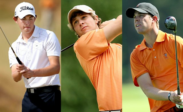 Patrick Cantlay, Peter Uihlein and Kevin Tway