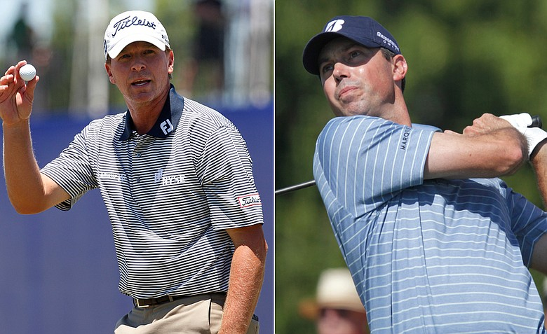 Steve Stricker and Matt Kuchar