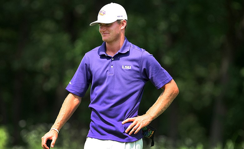 LSU senior John Peterson after shooting 65 Wednesday at the NCAA Championship.
