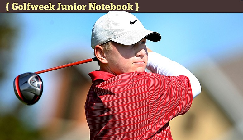 Brad Dalke during the Golfweek East Coast Junior Invitational at Reunion Resort.