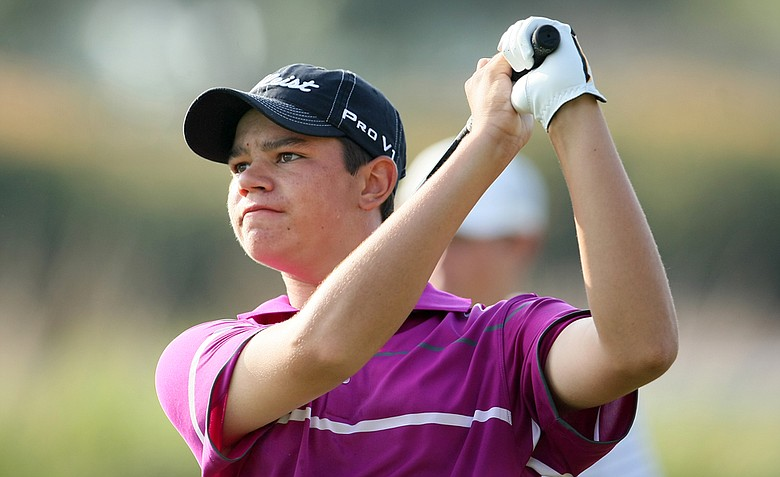Beau Hossler during the final round of the 2010 Junior Players at TPC Sawgrass.