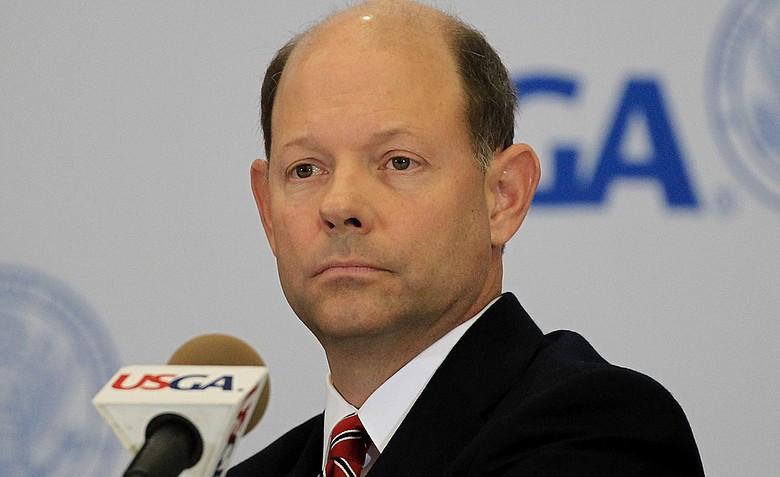 USGA executive director Mike Davis