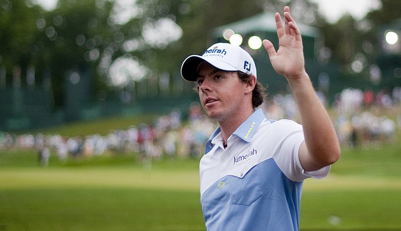 Rory McIlroy takes an eight-shot lead into the final round of the U.S. Open.