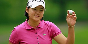 Notes: Tseng learning to smile on the course